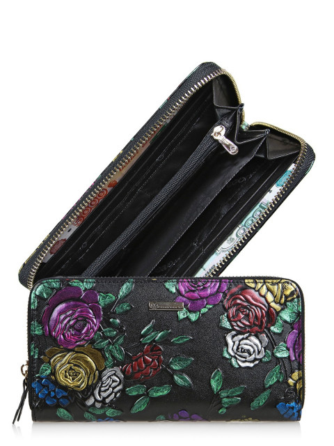 кgr17-0514 BLACK кошелёк женский