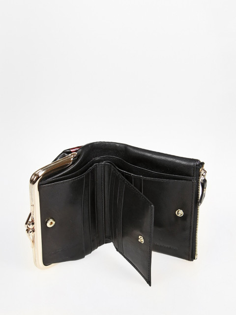 кgr17-0564 BLACK кошелёк женский